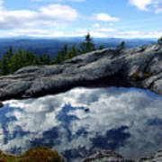 Cloud Pool On Borestone Mountain Poster