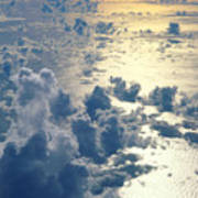 Clouds Over Ocean Poster by Ed Robinson - Printscapes