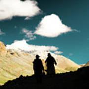 Clouds Way Kailas Kora Himalayas Tibet Yantra.lv Poster