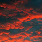 Cloudscape A1 Poster