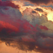 Cloudscape Sunset 46 Poster by James BO  Insogna