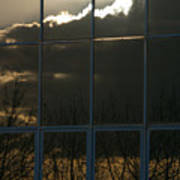 Cloudy Windows Poster