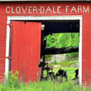 Clover Dale Farm Poster