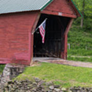 Clover Hollow Covered Bridge 01 Poster
