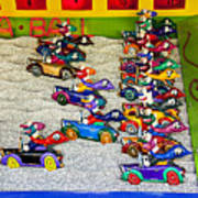 Clown Car Racing Game Poster