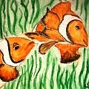 Clowning Fish Poster