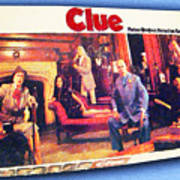 Clue Board Game Painting Poster