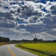 Clyde Fitzgerald Road Scenery Poster