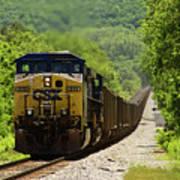 Coal Train Poster