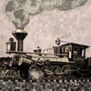 Coal Train To Kalamazoo Poster by Kerri Ertman
