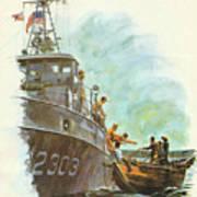 Coast Guard In Vietnam Poster