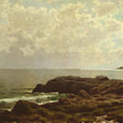 Coast Off Grand Manan Poster