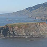 Coastal Butte Poster