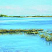 Coastal River Poster