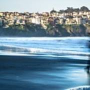 Coastal Scenes At Usa Pacific Coast Poster