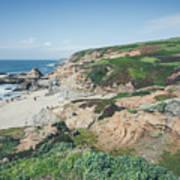 Coastal Views At Bodega Bay Poster