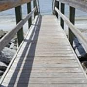 Coastal Walkway Poster