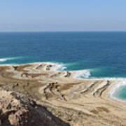 Coastline In The Desert Poster
