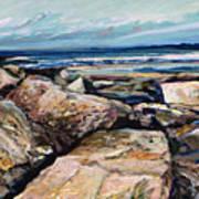 Coast's Edge Poster by Richard Knox