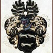 Coat Of Arms Black Poster