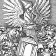 Coat Of Arms Of The House Of Dbcrer 1523 Poster