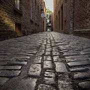 Cobbled Alley Poster