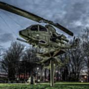 Cobra Helicopter Bristol Va Poster