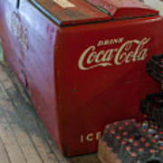 Coca-cola Chest Cooler General Store Poster