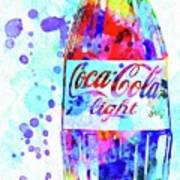 Coca Cola Light Poster