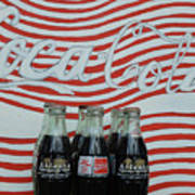 Coca Cola Olympic Commemorative Bottles Poster