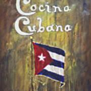 Cocina Cubana Poster
