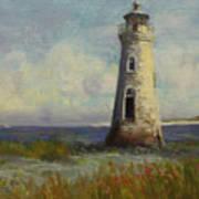 Cockspur Island Lighthouse Poster