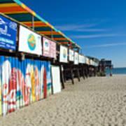 Cocoa Beach Flotida Poster