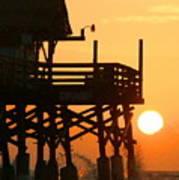 Cocoa Beach Pier/sunrise Poster