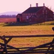 Codori Barn Gettysburg Poster