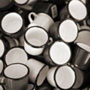 Coffe Cups 2 Poster