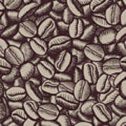 Coffee In Grain Poster
