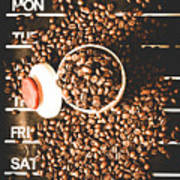 Coffee On The Menu Poster