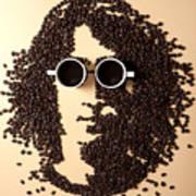 Coffee Portrait Poster