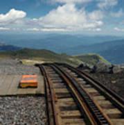 Cog Railway Stop Poster