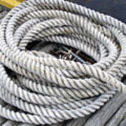 Coiled Rope  Poster