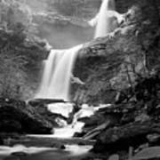 Cold Spring Morning At Kaaterskill Falls II Poster