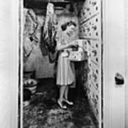 Cold Storage Room, C1940 Poster