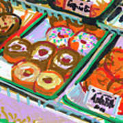 Coligny Donuts Poster