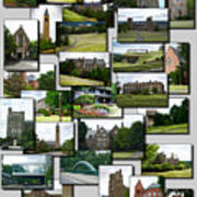 Collage Cornell University Ithaca New York Vertical 02 Poster