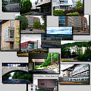 Collage Ithaca College Ithaca New York Vertical Poster