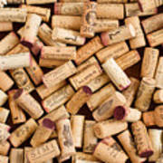 Collection Of Corks Poster