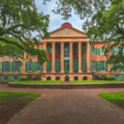 College Of Charleston Main Academic Building Poster