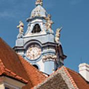 Collegiate Church Tower Poster