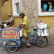 Colombia Srteet Cart II Poster